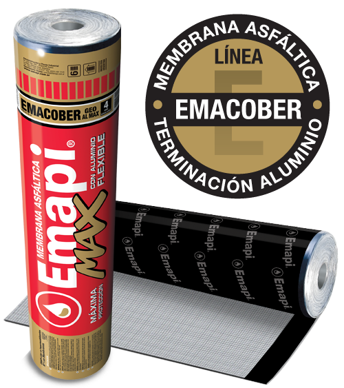 EMACOBER GEO AL MAX - ALUMINIO FLEXIBLE - 4 mm